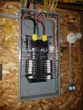 A recent electrician job in the area